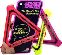 Aerobie Orbiter bumeráng