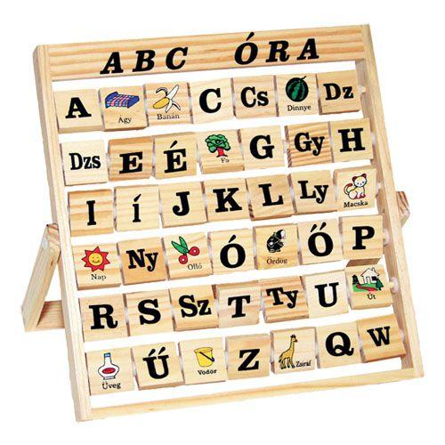 Image of ABC tábla oktató fajáték